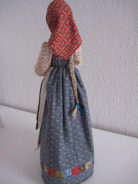 Авторская текстильная интерьерная кукла Хозяюшка от TinaVanDijk