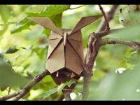 Como hacer un buho de origami - YouTube