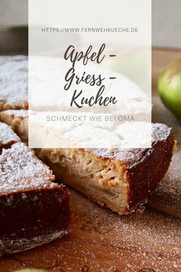 Omis Apfelkuchen Drucken Omis Apfel Griess Kuchen Rezept Beste Kuchen Rezepte Und Kuchen