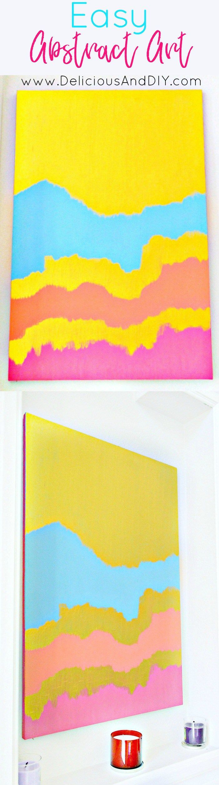 594 best Have Fun With Wall Art! images on Pinterest | Canvases ...