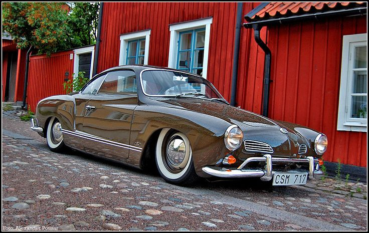 Karmann Ghia - remember seeing a shell of one of these at my uncles place....