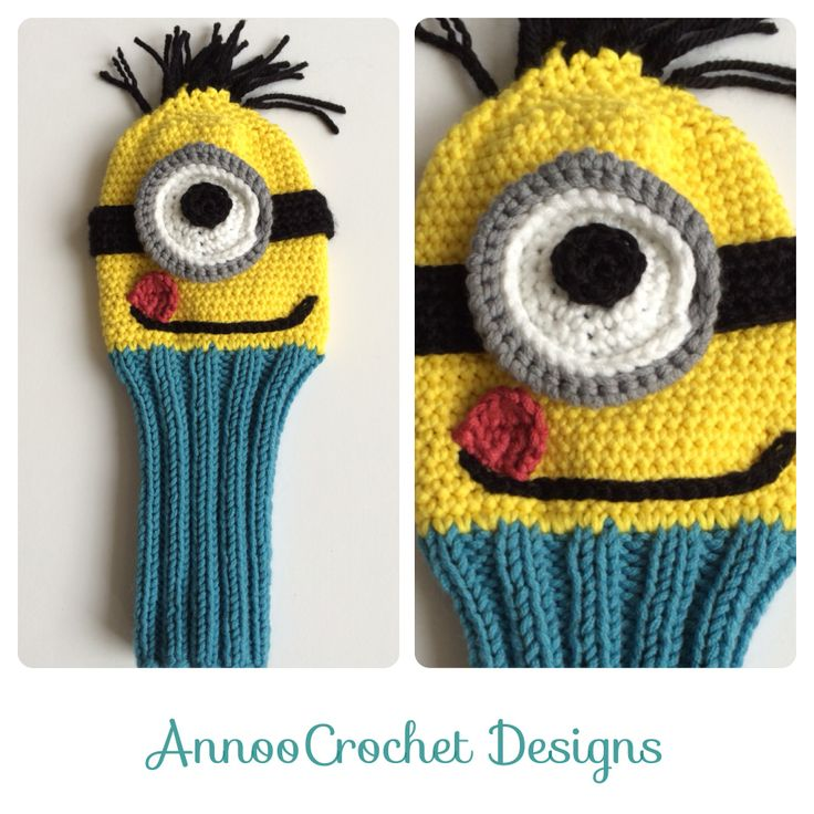 Free Knitting Pattern Golf Club Headcovers : 274 best images about Annoo Crochet Designs on Pinterest Free pattern, The ...