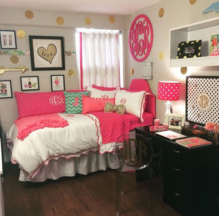 dorm room goals