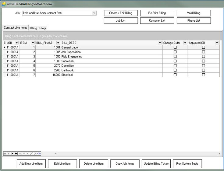 100  free aia billing software for constuction companies