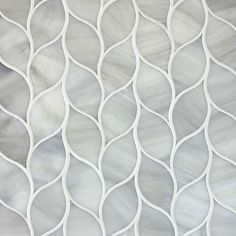 """Oh my goodness. I love this tile designed by Edgewater Studio in BC, Canada. This """"Laurel"""" design is gorgeous. Can we say kitchen back splash? *swoon*"""