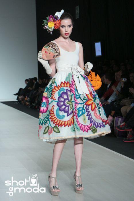 vestidos mexicanos de gala - Buscar con Google
