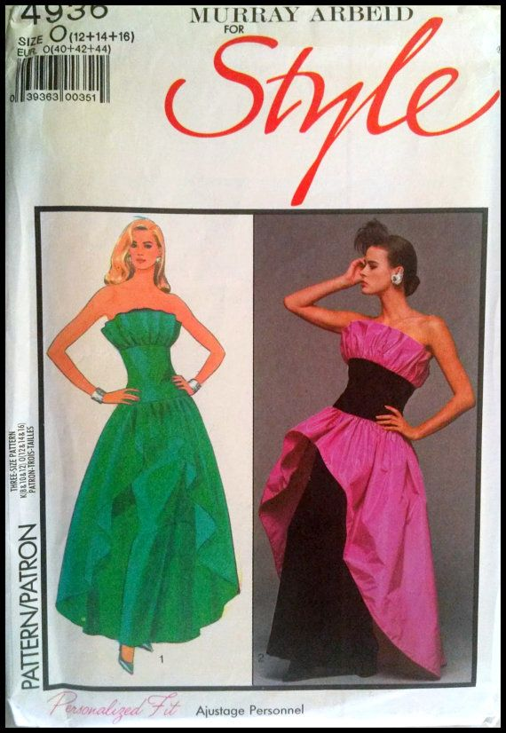Murray Arbeid For Style 4936 Misses' Lined by ThePatternShopp