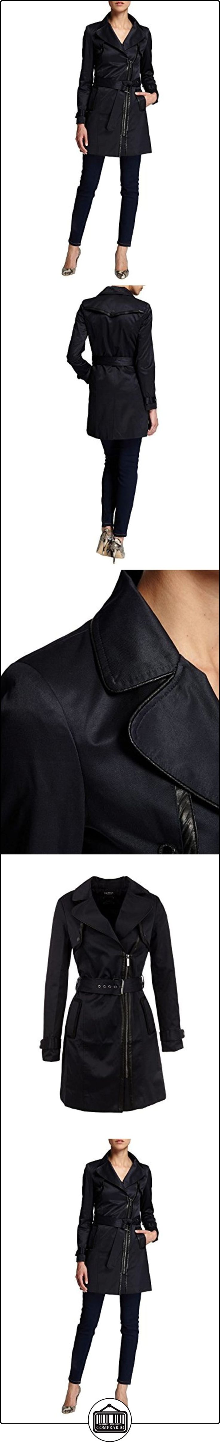 Morgan 152-GRIS.N - Gabardina para mujer, color marine/noir, talla 38  ✿ Abrigos y chaquetas ✿