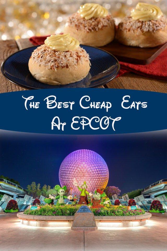 The Best Cheap Eats At EPCOT at Disney World