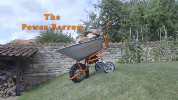 Electric Wheelbarrow for use in the garden. For more info: http://www.fresh-group.com/electric-wheelbarrow.html