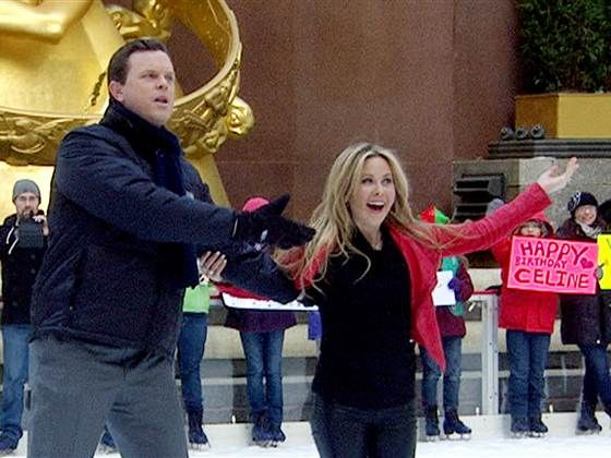 'Frozen poetry': Willie Geist on ice will rock your world ---> Just try to tear your eyes away from Willie Geist's Rock Center rink duet with Tara Lipinski.(December 16)