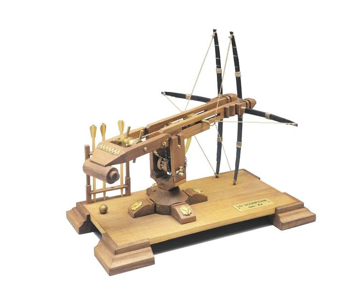 Mantua Models 16th Century Scorpion Crossbow Kit 810 | Hobbies The Scorpion Crossbow launched iron balls, stones and arrows more than 200 metres with high precision. Base size 110 x 210mm Scale 1:17