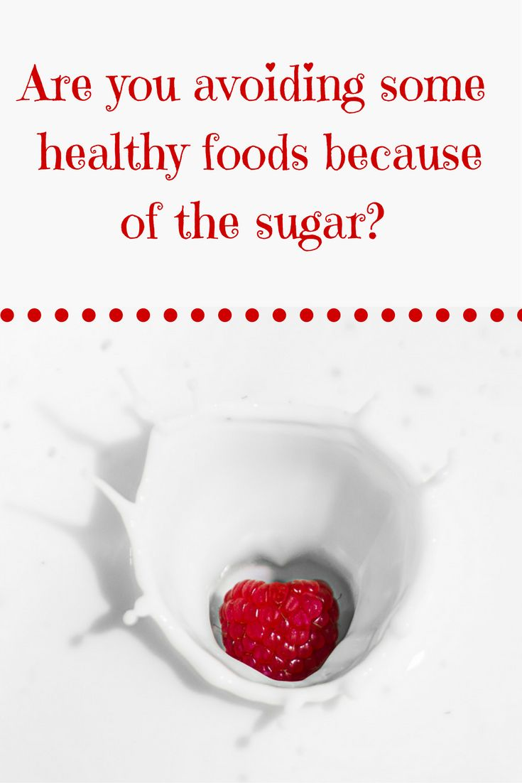 Are you avoiding some healthy foods because of the sugar, such as the sugars found naturally in foods such as fruit and milk. Learn the different between naturally occurring and added sugars.