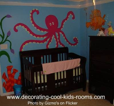 themed rooms for kids | Ocean Themed Kids Room With a New Model / Designs Ideas and Photos of ...