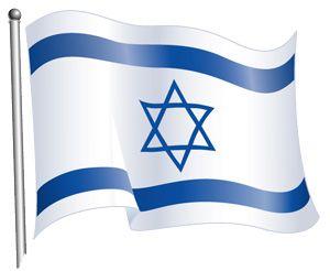 Israeli flag -
