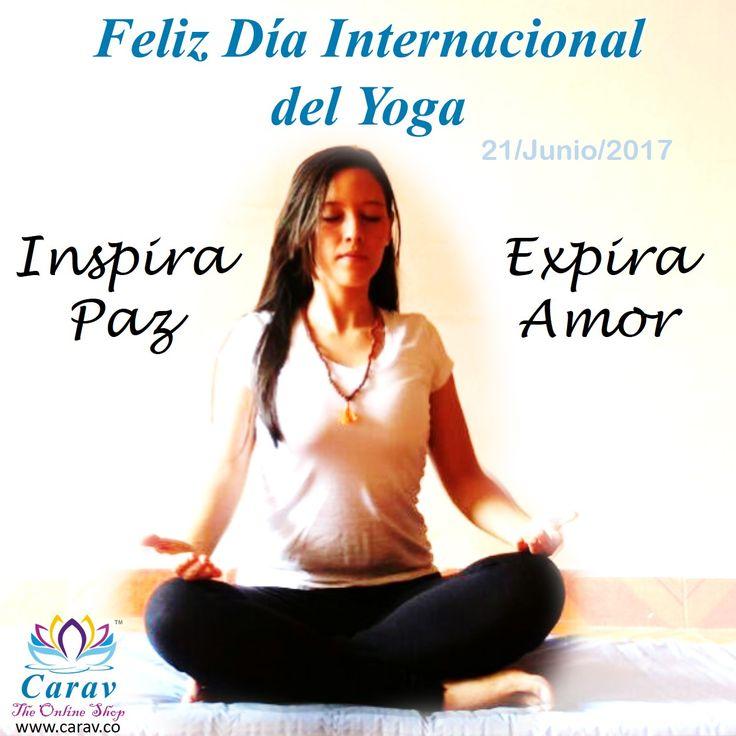 Hoy celebramos el #DiaInternacionalDelYoga, una practica que nos permite #Equilibrar #Mente, #Cuerpo y #Espiritu...  #FelizDia!!! Alguna vez has practicado Yoga?  #FelizDiaInternacionalDelYoga #Carav #Yoga #Namaste #FelizMiercoles #Mindfulness #Tranquilida #Paz #Amor #Bienestar #India #Concentracion #Meditacion