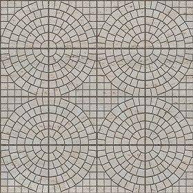 Textures Texture seamless | Cobblestone paving travertine texture seamless 06415 | Textures - ARCHITECTURE - PAVING OUTDOOR - Pavers stone - Cobblestone | Sketchuptexture