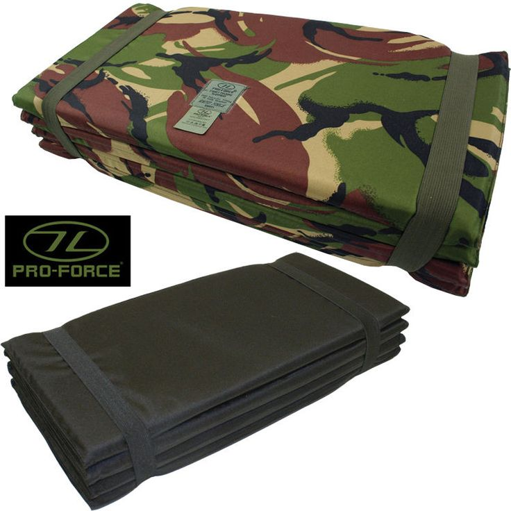 Highlander Z Army Sleeping Mat Folding Fold Up Camping