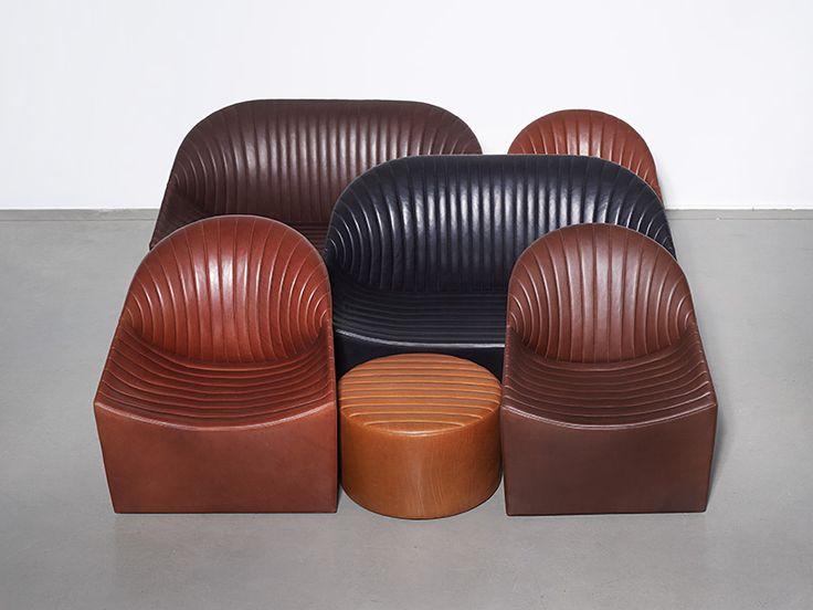 Wittmann, Oyster Chair design Jörg Boner