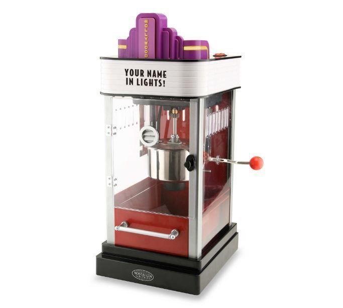 Nostalgia™ Electrics Hollywood Kettle Popcorn Maker Corn Popper Machine Hot #NostalgiaElectrics