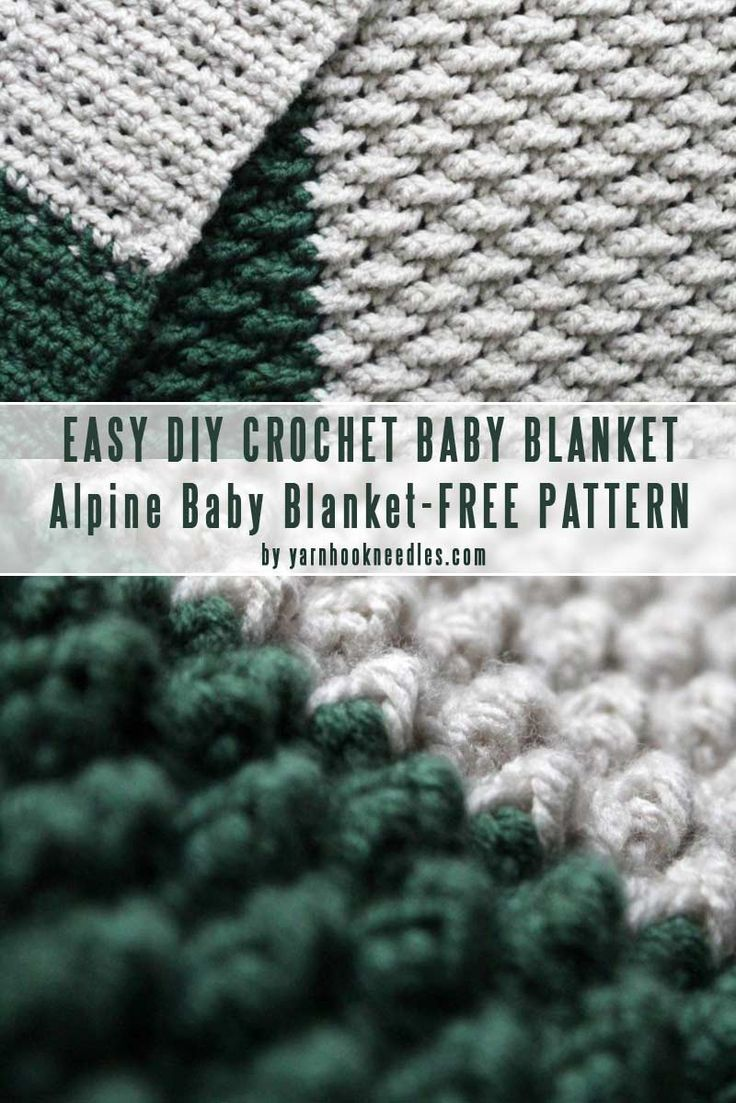 Easy Diy Crochet Baby Blanket Patterns You Can Finish In A