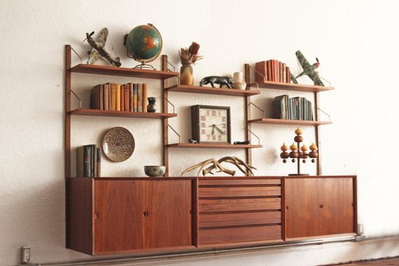 Danish Mid Century Cado System Modular Wall by OtherTimesVintage, $2595.00