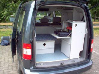 tech campingvan minicamper vw caddy camper