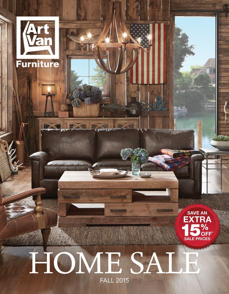 59 best 2015 Fall Home Sale Catalog images on Pinterest | Art van ...