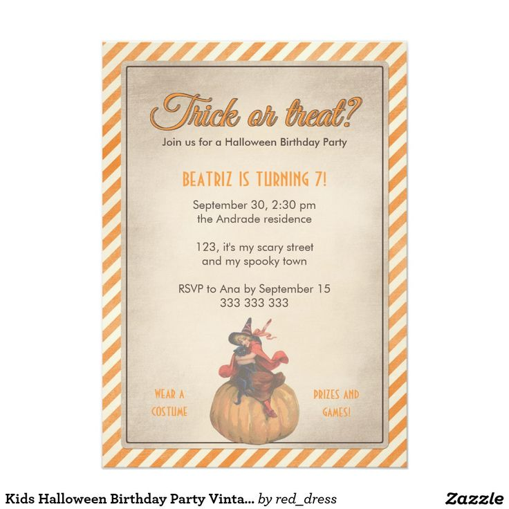 112 best halloween cards and invitations images on for Vintage halloween party invitations