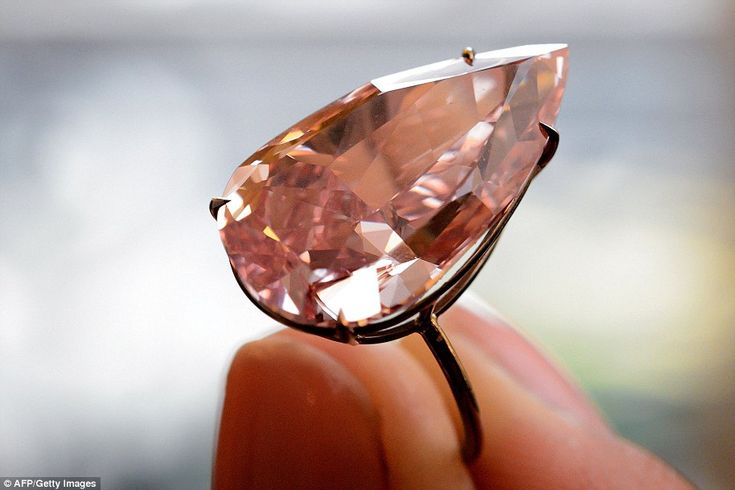 Sotheby's estimated The Unique Pink would sell for $28million but appetite for this 15.38 stone saw it sold for $31.5million in 2016