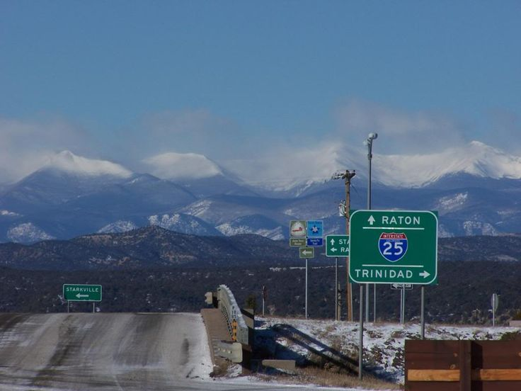Raton Pass, NM