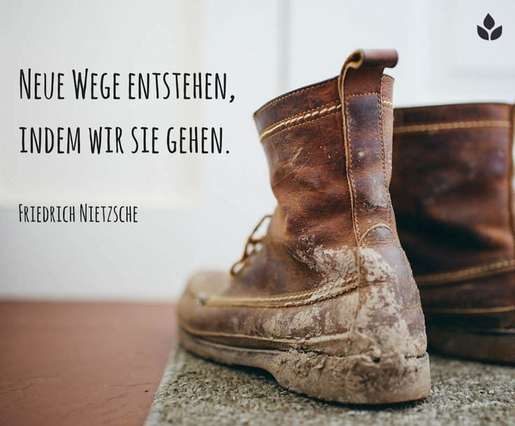 Neue #Wege entstehen, indem wir sie gehen... Friedrich #Nietzsche... #Dankebitte…