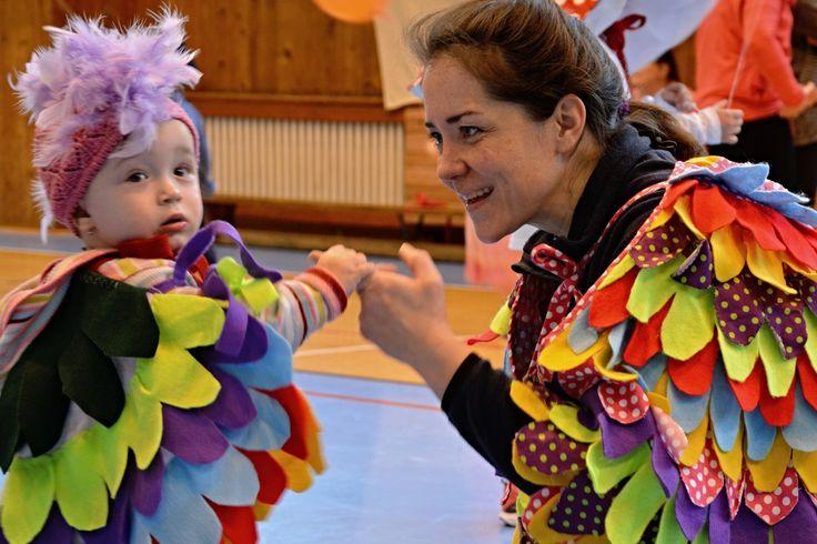 Kostým papouška od paní Aleny Patrovské, fotografii pořídila paní Vitalina Tiefenbachová