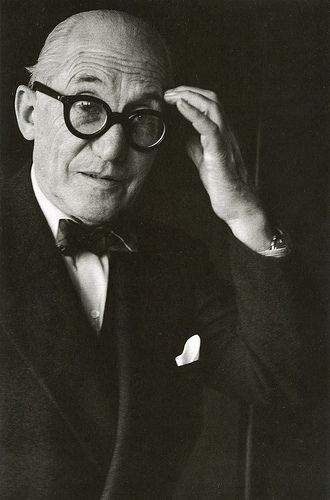 3. Le Corbusier - architect and designer who along with others fathered modern architecture. He also designed sleek, stream-lined furniture.