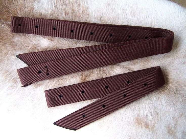 Brown Nylon Western Saddle Cinch Strap & Off Billet Set New Horse Tack    eBay