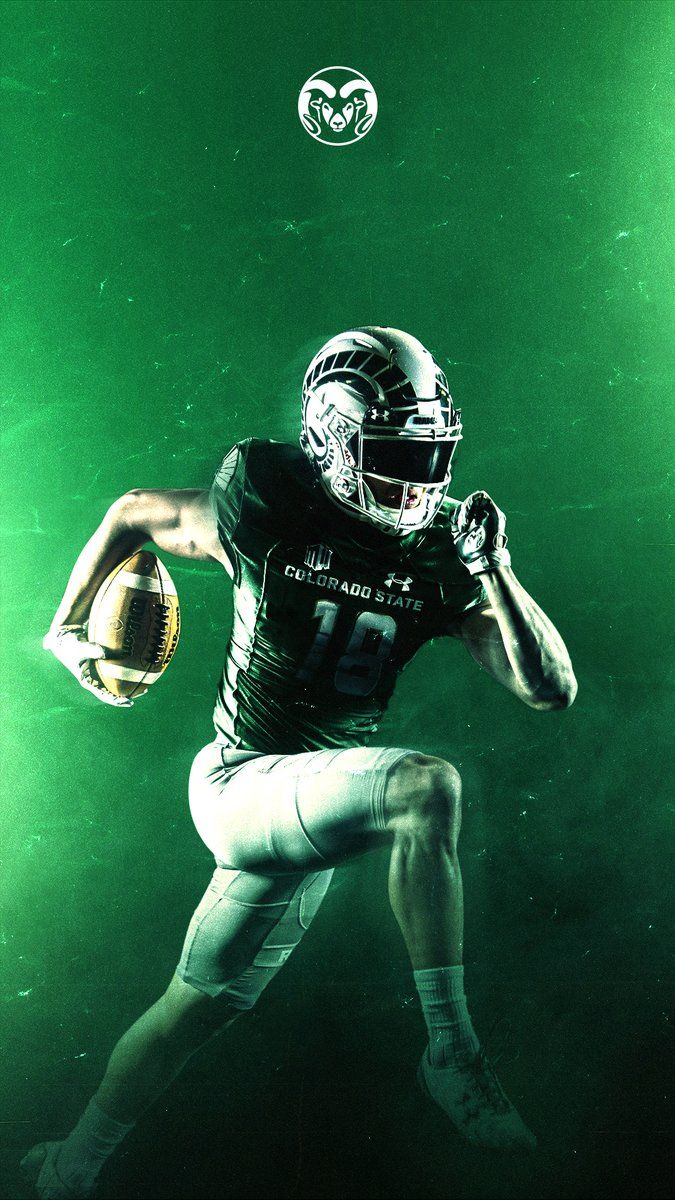 Colorado State Sports Graphics College Football Graphic