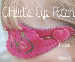 Doodle La: Children's Eye Patch Pattern & Tutorial