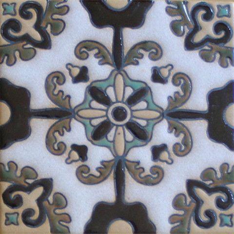 Prima Mexican Tile - Otono Blanco - Mexican Tile Designs