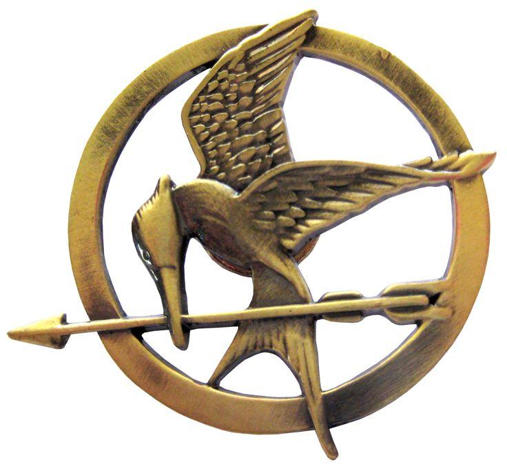 The Hunger Games - Mockingjay Pin Prop Replica