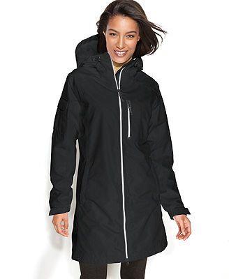Helly Hansen Jacket, Long Belfast Hooded Raincoat$160 20% off
