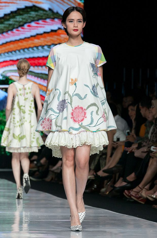 Cute Batik Dress by Edward Hutabarat