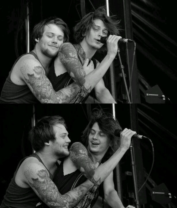 Asking.Alexandria. Danny and Ben. You will have friend ships, but you will NEVER have a friend ship like this