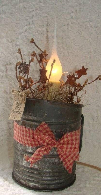 Rustic Christmas Table Centerpieces - Harbor Farm Wreaths