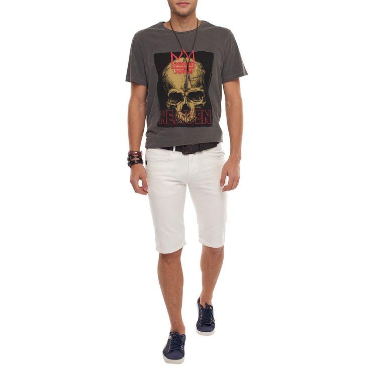 BERMUDA ARUBA BRANCA JOHN JOHN DENIM | SHOP ONLINE | Compre a nova coleção pelo site oficial.