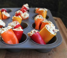 From Which Things Grow: Chew on This | Stuffed Mini Sweet Peppers