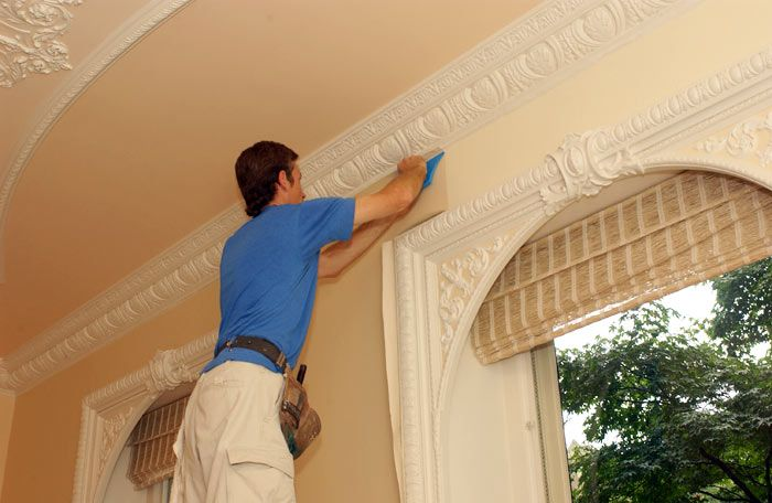 plaster repair renovation to the Scott-Bocock House