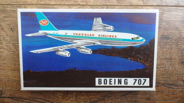 DUBENA Český Dub - BOEING 707 raritka od 1Kč (6796381573) - Aukro - největší obchodní portál