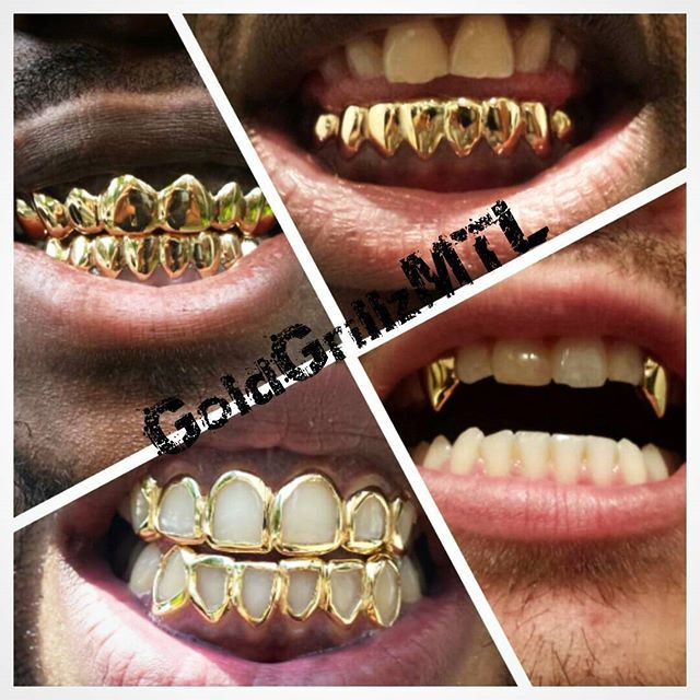 13 Best Top Grillz Yellow Gold Grillz Images On