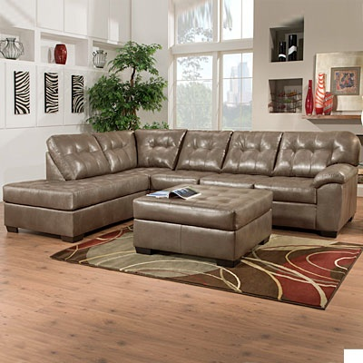 Simmons 174 Tonto Tumbleweed 2 Piece Sectional At Big Lots