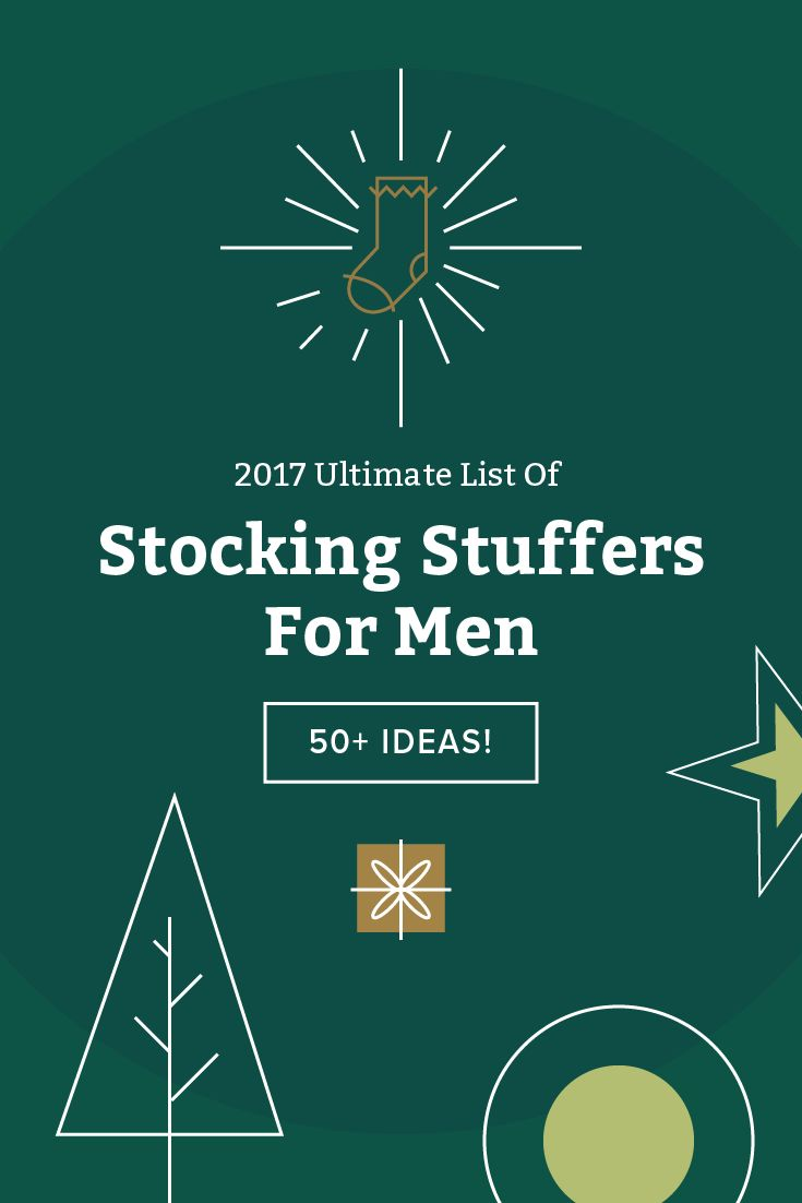 Impress your man this Christmas with these fun, unique gifts that will surely win him stocking of the year